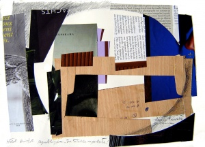 Collage, grafit i tinta sobre paper, Desembre del 2005 / gener del 2006.