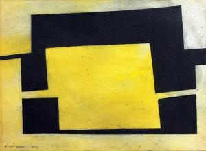 monotípia i oli sobre paper, 15×21 cm., 2004