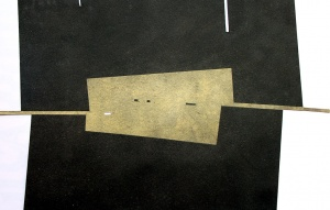 monotípia i oli sobre paper, 20×30 cm., 2005