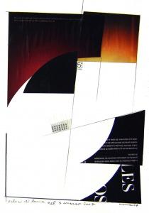 Collage i grafit sobre paper, Març del 2007.