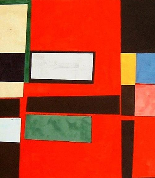 tremp de caseina sobre fusta, 90×170 , 2005