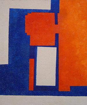 tremp de cola sobre tela, 81×100 cm., 2005