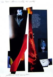 Collage sobre paper, 1 de gener del 2006.