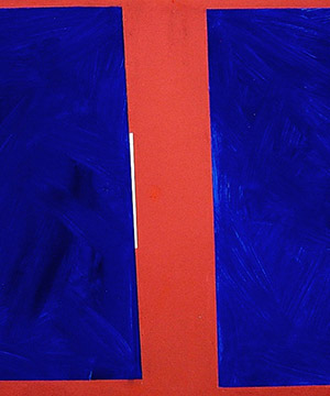cera emulsionada sobre fusta, 70×100 cm., 2004