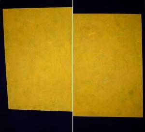 cera emulsionada sobre fusta, 180×180 cm., 2004