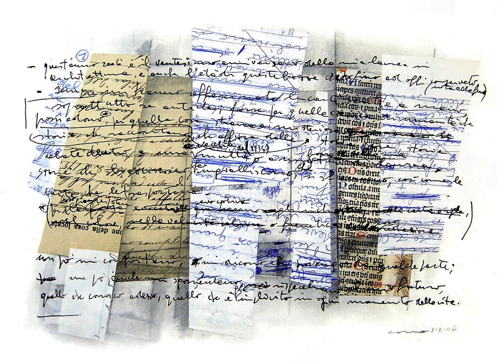 Sempre m'han fascinat els papers escrits a mà, sobretot els antics; potser per aquella càrrega d'humanitat que posseeixen, pel seu gran poder evocatiu, per aquella cosa, rara i misteriosa, que aflora de les històries que expliquen. Històries reals, històries amagades a dintre d'una vella multa del 1934 o en un esbós de la meva tesi de llicenciatura. Històries que s'esvaeixen, es descoloreixen, s'esfumen, així com els papers que les transporten. Una mica em conforten, em diuen que procedeixo d'algun lloc; una mica també em consternen, reflecteixen el meu futur, aquell que conec ara, aquell que és implícit en cada moment de la vida.