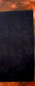 oli sobre fusta, 159x68 cm., 2004