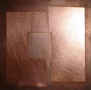 esgrafiat sobre coure, 10×11 cm., 2006