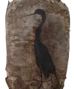 acquaragia, china e acquerello su carta, 41.8×29.7 cm., 2003