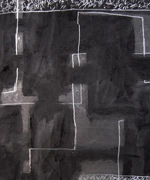 grafit sobre paper, 35×50 cm., 2004