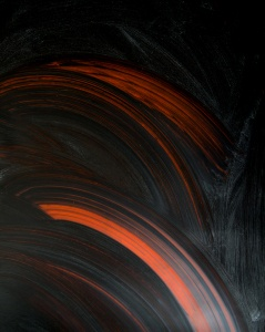 Oil on plexiglass, 200x100 cm., 2017 detail