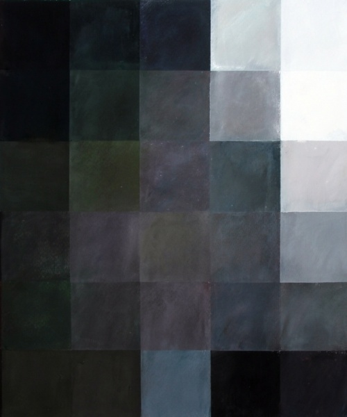 Interior palestí (homenatge a Velàzquez), Pastel sobre paper, 70x100 cm., 2013