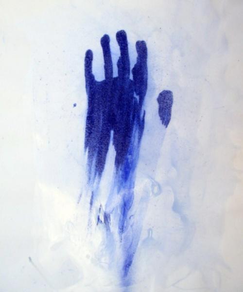 Don't touch!, acrílic sobre paper, 65x50 cm., 2016sobre