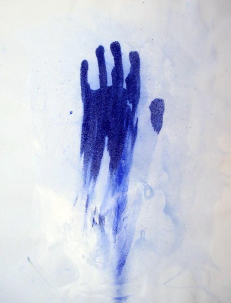 Don't touch!, acrílic sobre paper, 65×50 cm., 2016sobre