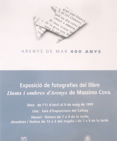"""""""LLUMS I OMBRES D'ARENYS"""" – ARENYS DE MAR – 1999"""