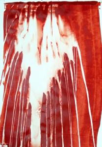 (Re) Pulsions 12, Esmalt i aigua sobre paper, 100x70 cm.