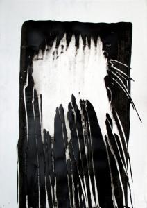 (Re) Pulsions 11, Esmalt i aigua sobre paper, 100x70 cm.