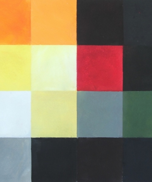 Explosió a Gaza, Pastel sobre paper, 50x70 cm., 2013
