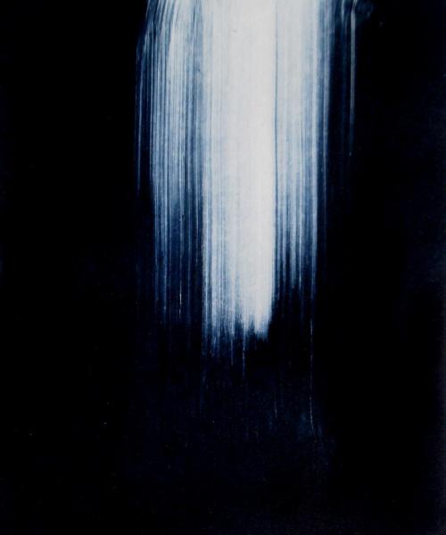 Scrapes & Scratches 8,  ink on paper, 15.8x12.7 cm. (29.7x21 cm. paper), 2016