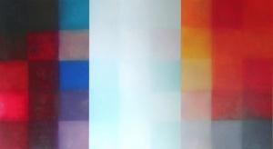 Font,  Oli sobre fusta, 122x219.6 cm., 2014