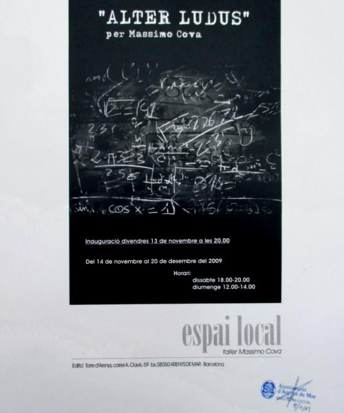 """""""ALTER LUDUS"""" – ARENYS DE MAR – 2009"""
