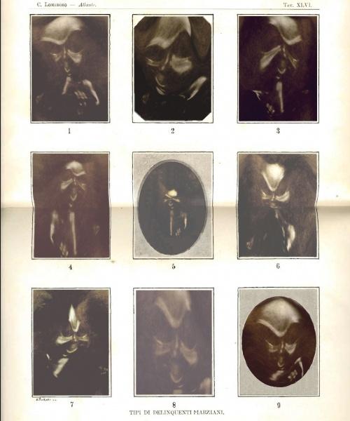 Tipus de Delinqüents Marcians, impressió digital.