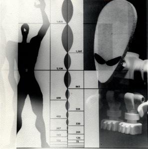 Modulor Ufo, fotografia bromur de plata de negatiu 6x6