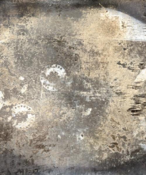 Post-Technology Daguerrotype, sèrie Il Futuro è già Passato, impressió digital de fotografia al daguerrotip, 9x12 cm., 2015.